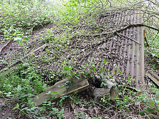 Abandoned Derelict Sawmill Cooksbridge In Lewes District Sussex
