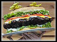 Big Burger : Bonfire Night Food