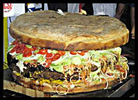 Largest Burger : Bonfire Night Food