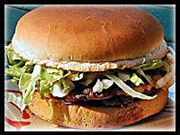 Beef Burger : Bonfire Night Food