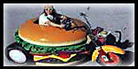 Hamburger : Bonfire Night Food