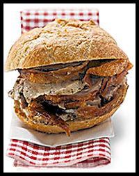 Hog Roast Bap : Bonfire Night Food