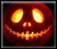 Pumpkin Jack o Lantern : Bonfire Night Food