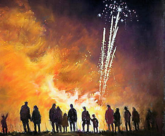 Bonfire Society Firework Display Night Date Sussex #sussexbonfire