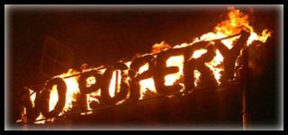 Cliffe Bonfire Society CBS No Popery