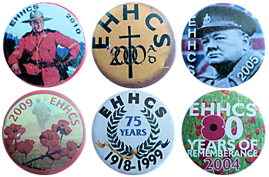 East Hoathly And Halland Carnival Society Badge Sussex Bonfire Night Tin Enamel Metal