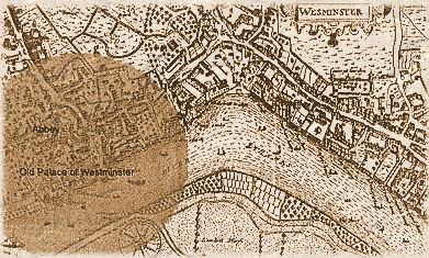 Gunpowder Plot Map