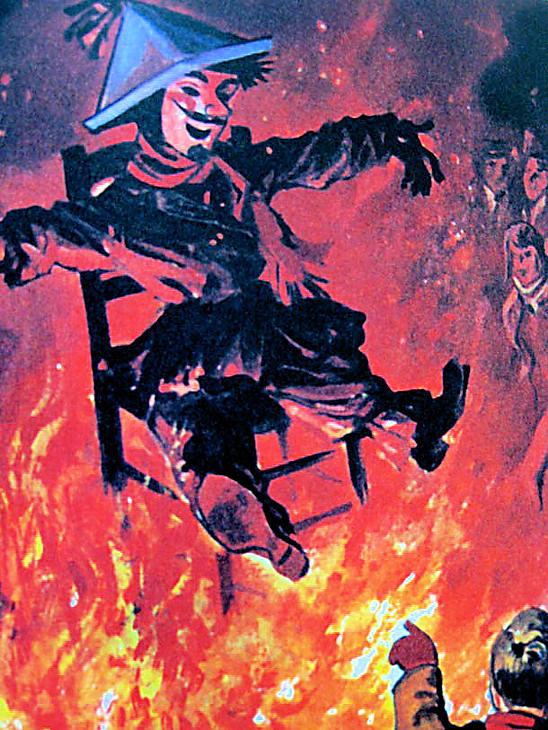 Guy Fawkes Bonfire Lewes