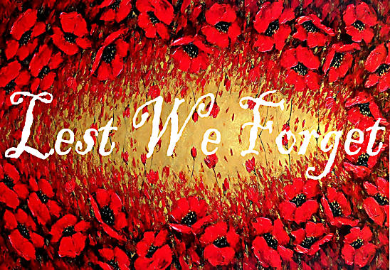 Lest We Forget Poppies Poppy Remembrance 2017