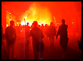 Lewes Bonfire Night Celebration
