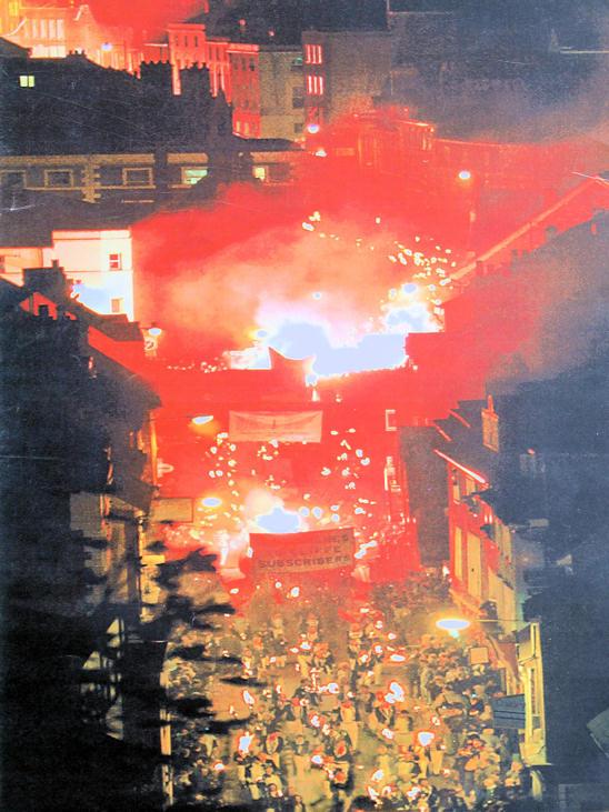 Lewes Bonfire Origins