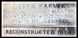 Deryk Carver Protestant Martyr Memorial