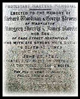 Martyrs Memorial Richard Woodman George Stevens Margery James Morris