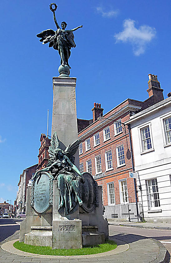 Lewes War Memorial Sussex
