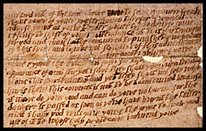 Lord Monteagle Letter : Gunpowder Plot