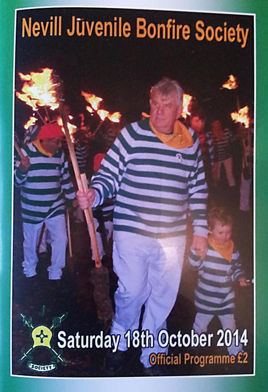 Nevill Juvenile Bonfire Society Programme NJBS 2014