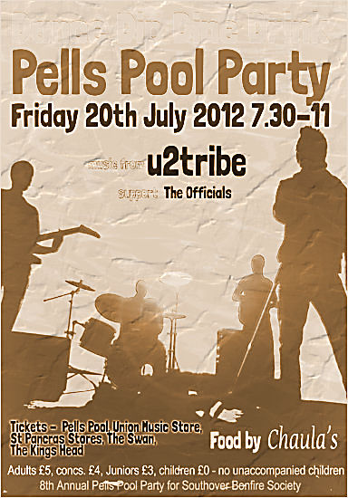 Pells Pool Party Southover Bonfire Society Lewes