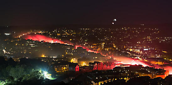 Red River Of Fire Lewes Bonfire