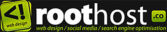 Roothost Root Host Website Web Site Logo