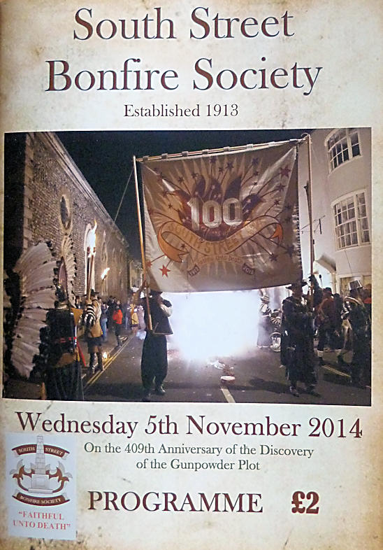 South Street Bonfire Society Programme SSBS 2014