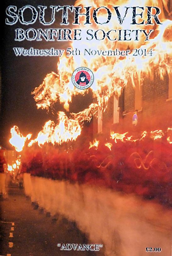 Southover Bonfire Society Programme SBS 2014