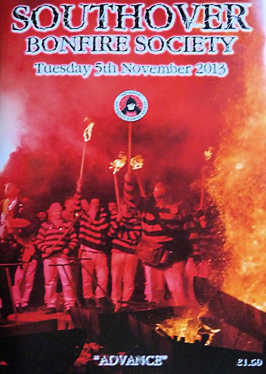 Southover Bonfire Society (SBS) Programme 2013