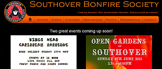 Southover Bonfire Society sbs Website